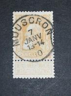 COB N° 79 Oblitération Mouscron - 1905 Grosse Barbe