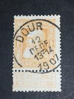 COB N° 79 Oblitération Dour 1907 - 1905 Grosse Barbe