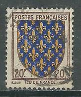 France YT N°575 Ile De France Oblitéré ° - France