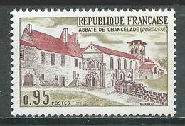 France YT N°1645 Abbaye De Chancelade Neuf ** - France
