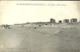 MERLIMONT-PLAGE  -- La Plage à Marée Basse                                   -- Maes 20 - France