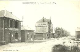 MERLIMONT-PLAGE  -- La Ploste Et L'avenue De La Plage                                   -- Léon - France