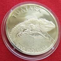 New Zealand 5 $ 2007 Lizaed Tuatara Nova Zelandia Nuova Zelanda Nouvelle Zelande - New Zealand