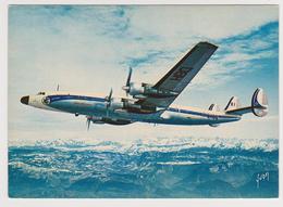 1341/ AIR FRANCE Super Starline Survolant Les Alpes.- Non écrite. Unused. No Escrita. Non Scritta. Ungelaufen. - 1946-....: Era Moderna