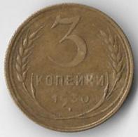 USSR 1930 3 Kopeks [C318/1D] - Russie