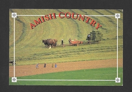 PENNSYLVANIA - AMISH COUNTRY - THE MAIN SOURCE OF LIVELIHOOD FOR THE AMISH IS FARMING - PHOTO BY JERRY IRWIN - Other
