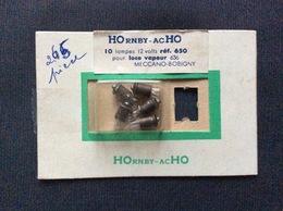 HORNBY-acHO  5 Lampes 12 Volts Ref. 650 Pour LOCO VAPEUR 636  MECCANO-BOBIGNY  Bulb Light - Alimentation & Accessoires électriques