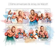Togo 2014  American Professional Boxer ,Jersey Joe Walcott - Togo (1960-...)