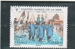 FRANCE 2015 SAINTES MARIES DE LA MER OBLITERE YT 4937 -                                 TDA268 - France