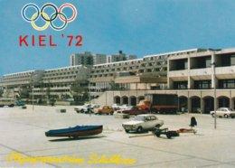 Germany Postcard 1972 Kiel Olympic Games - Olympiazentrum Schilksee - Mint (DD23-33) - Voile