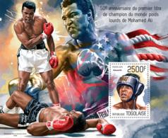 Togo 2014 Muhammad Ali  Boxing - Togo (1960-...)