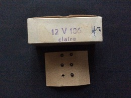 HORNBY-acHO  5 Ampoules Éclairage Clair 12 Volts  Ref.186 - Alimentation & Accessoires électriques