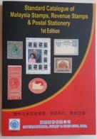 Malaya Sarawak Borneo Kelantan States Malaysia 1900 1957 2018 1st Stamp Catalogue  & Revenue Postal Stationary Error - Stamp Catalogues