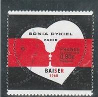FRANCE 2018 SONIA RYKIEL PARIS BAISER OBLITERE - YT 5198 - France