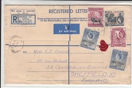 Kenya Uganda Tanganyika / Stationery / Airmail / Elephants / Lions - Kenya (1963-...)