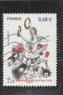 2015 FRANCE 70E ANNIVERSAIRE DU 8 MAI 1945 - OBLITERE YT 4954 - France