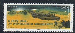 FRANCE 2014  70E ANNIVERSAIRE DU DEBARQUEMENT 6 JUIN 1944 OBLITERE YT 4863   - - France