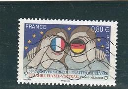 FRANCE 2013 CINQUANTENAIRE TRAITE DE L ELYSEE OBLITERE YT 4711 - France