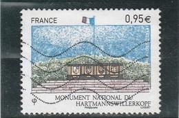 FRANCE 2015 MONUMENT NATIONAL DU HARTMANNSWILLERKOPF OBLITERE  - YT 4966 - France