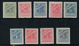 Grèce // Timbres Taxes 1913-1924 Neufs ** - Unused Stamps