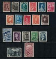 Grèce // Timbres 1930 Neufs ** No. Y&T 375 à 392 Série Complète - Unused Stamps