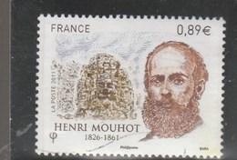 FRANCE 2011 HENRI MOUHOT OBLITERE YT 4629 - France
