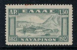 Grèce // Timbres 1928 Neufs ** No. Y&T 369 Baie De Navarin - Grèce