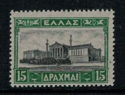 Grèce // Timbres 1927 Neufs ** No. Y&T 360 Académie D'Athènes - Grèce