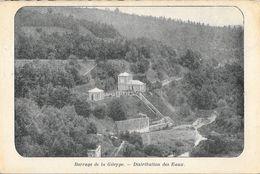 Barrage De La Gileppe (Baelen) - Distribution Des Eaux - Carte Dos Simple Non Circulée - Non Classés