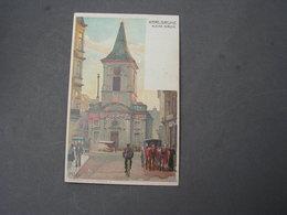 Karlsruhe  Kl. Kirche Sign.  Kley 1913 Nach Bex , Veltens Künstler AK 479 , Selten - Karlsruhe