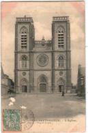 3YTH 840 CPA - VILLERS BRETONNEUX - L' EGLISE - Villers Bretonneux