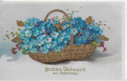 AK 0161  Herzlichen Glückwunsch Zum Geburtstage - Prägekarte Um 1931 - Geburtstag