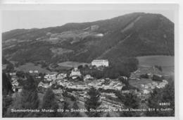 AK 0161  Murau Mit Schloß Obermurau - Verlag Ledermann Um 1941 - Österreich