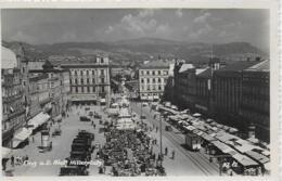 AK 0161  Linz An Der Donau - Adolf Hitlerplatz Um 1940 - Linz
