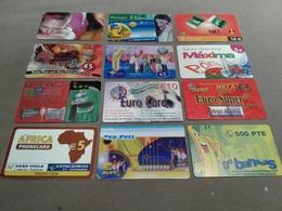 Portugal - 12 Nice Prepaid Phonecards - Portugal