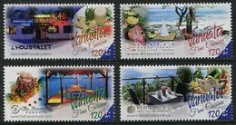 Vanuatu 2016 - Alimentation, Cuisine Fine Du Vanuatu - 4 Val Neufs // Mnh - Vanuatu (1980-...)