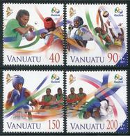 Vanuatu 2016 - Jeux Olympiques, Rio 2016 - 4 Val Neufs // Mnh - Vanuatu (1980-...)
