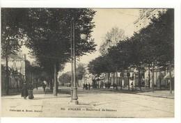 Carte Postale Ancienne Angers - Boulevard De Saumur - Angers