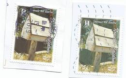 1014  Les Boites Aux Lettres   Variété De Couleur   (pag7D) - Sonstige