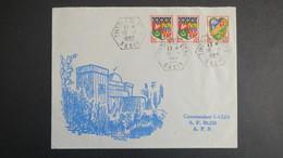 Algerie Lettre  De Tinedla El Pero ?  Oasis Fevrier 1962 Pour SP 86 520 A.F.N - Algérie (1924-1962)