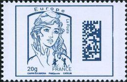 France Marianne De La Jeunesse Par Ciappa Et Kawena N° 4975,** Dadamatrix Le 20 Grammes Bleu Europe - 2013-... Marianne De Ciappa-Kawena