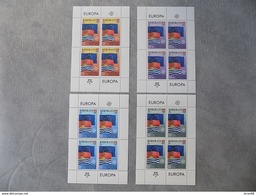Bloc Feuillet (4) Neuf Kiribati 2006 : Cinquantenaire Du Timbre Europa - Europa-CEPT