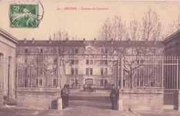 CPA .  44. BEZIERS  - Caserne De Cavalerie - Beziers