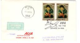 14085 - ZAGREB - WIEN - 1945-1992 République Fédérative Populaire De Yougoslavie