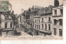 02DB01Q526  CPA 02 -  526.. SAINT QUENTIN  RUE CROIX BELLE PORTE        V 1922 - Saint Quentin
