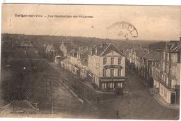 CPA Torigny Sur Vire Vue Panoramique Sur St Laurent 50 Manche Café Simon - Autres Communes