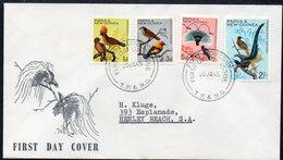 PAPUA NEW GUINEA, 1965 BIRDS FDCs 3 - Papouasie-Nouvelle-Guinée
