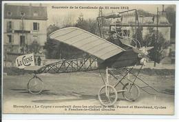 """Monoplan """"Le Cygne"""" Construit Dans Les Ateliers De MM Parrot Et Marchand,Cycles à Fesches -le-Chatel-Doubs - ....-1914: Précurseurs"""