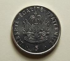 Haiti 5 Centimes 1997 Varnished - Haïti