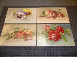 Beau Lot De 20 Cartes Postales De Fantaisie Illustrateur Catharina Klein  Mooi Lot Van 20 Postkaarten Van Fantasie Klein - Postkaarten